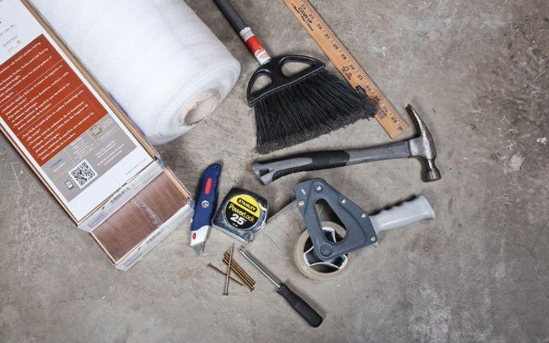 Какие инструменты нужны для работы