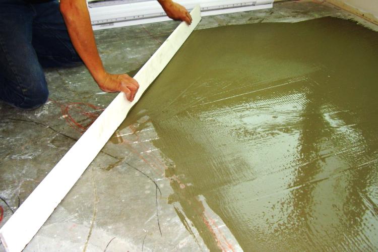 Комплексная подготовка бетонного основания