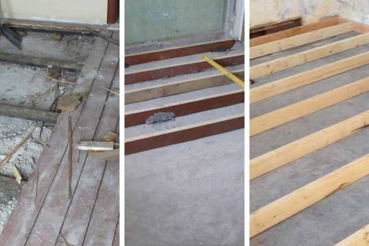 Утепление керамзитом под деревянный пол на бетонное основание