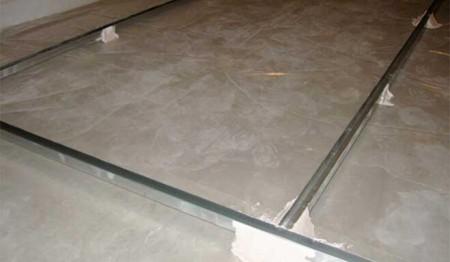 утепление бетонного пола керамзитом 6